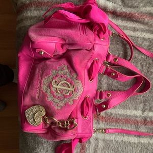 JUICY COUTURE, VELVET PINK PURSE